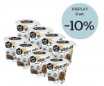 DISPLAY feel FIT WAKE-UP PROTEIN Granola owies, kakao i tahini 8 szt. x 70g