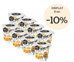 DISPLAY feel FIT WAKE-UP PROTEIN Granola owies, nasiona lnu i grecki miód 8 szt. x 70g